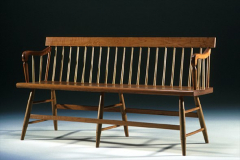 American - Shaker Meetinghouse Bench