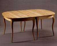 Contemporary Cabriole-leg Table