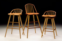 contemporary-windsor-stools-by-becker