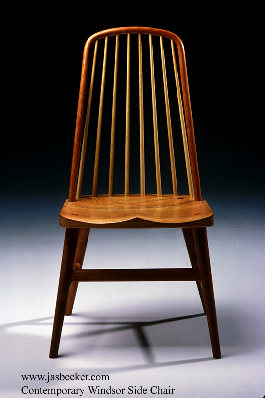 Contemporary Windsor Side Chair by Becker